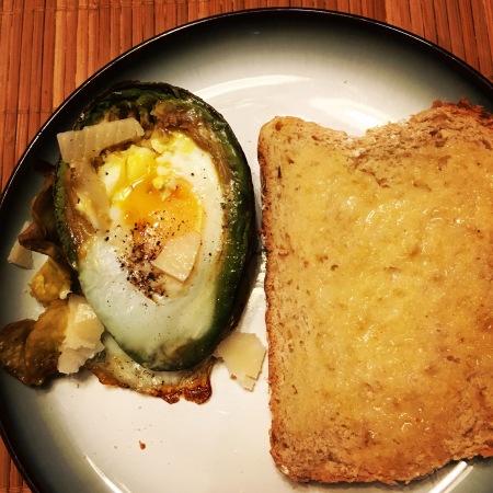 Avocado and Egg