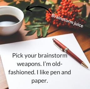 Brainstorm weapons