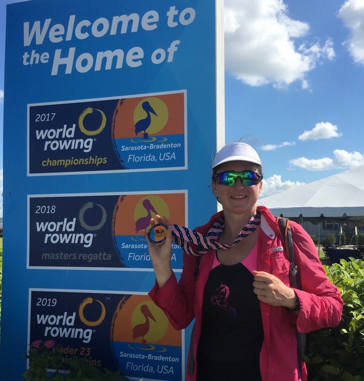 World Rowing Masters Regatta gold